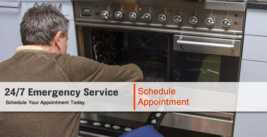 Schedule Oven Repair Service